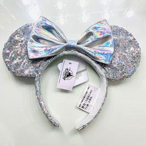 Disney Parks Magic Mirror Minnie Mouse Ears!